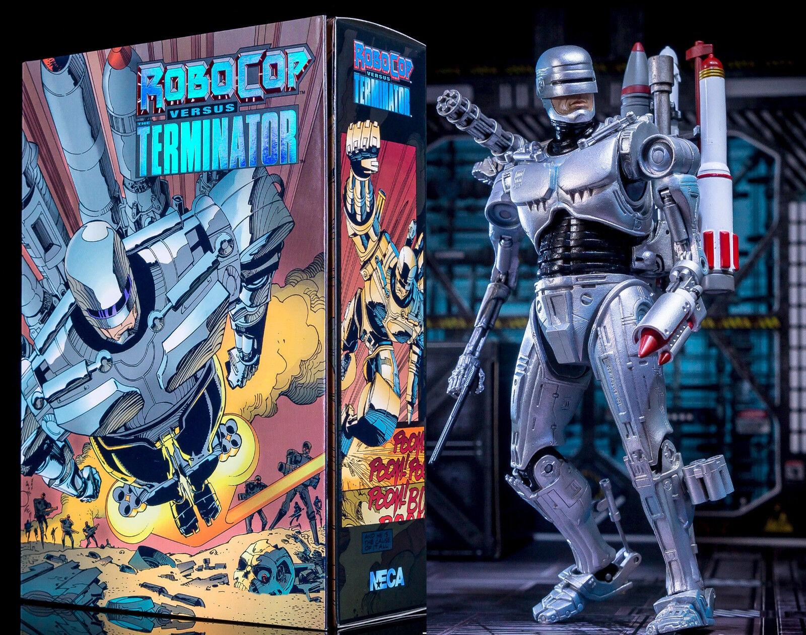 Neca robocop und der terminator - endgültige zukunft - figur - neuf   emball é