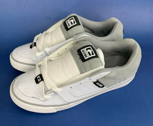 No Box Details about  /NEW Globe MOTIVE White Gray Skateboard Skate Shoes 11.5 NOS