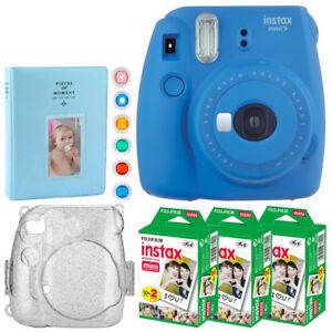 Fujifilm-Instax-Mini-9-Instant-Film-Camera-Cobalt-Blue-Full-Accessory-Bundle