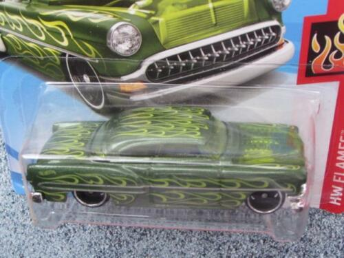 Hot Wheels 2018 #350//365 CUSTOM 1953 CHEVY green HW Flames