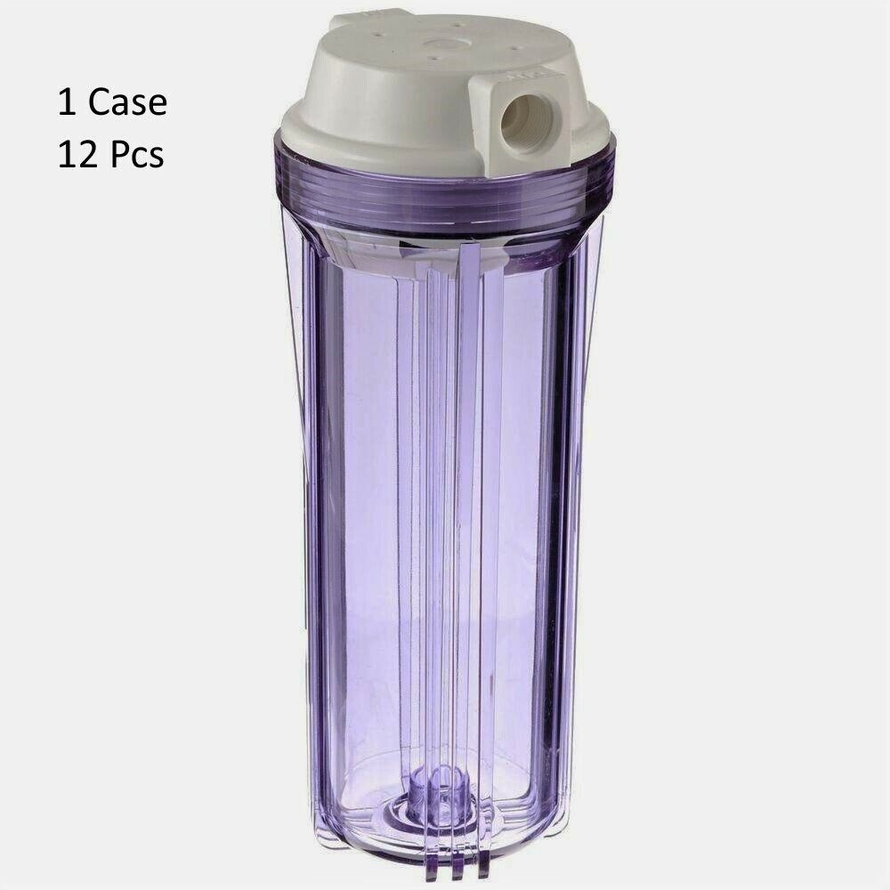 12 Filtre à eau claire logement pour Osmose Inverse di 10  1 2  FNPT
