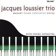 Jacques Loussier Trio: Mozart Piano Concertos 20/23, New Music