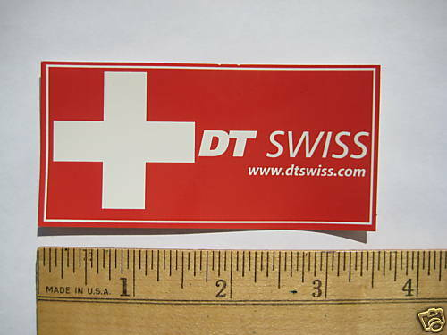 DT SWISS HUB Road E Mountain Bike Bicycle DECAL STICKER