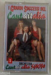 CANTAITALIA-ORCHESTRA-I-GRANDI-SUCCESSI-DEL-CANTAITALIA-Musicassetta-Sigillata