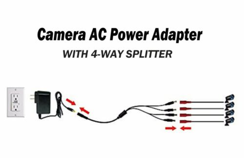 AC Adapter For Lorex 4K Ultra HD DVR Recorder High Definition IP Security Camera