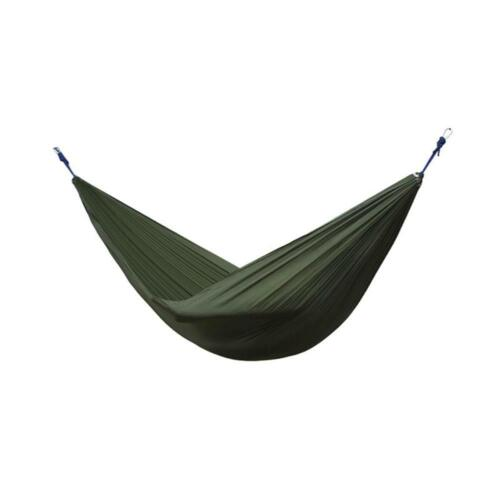 Nylon Double Person Hammock Camping Outdoor Travel Survival Hanging Sleeping Bed