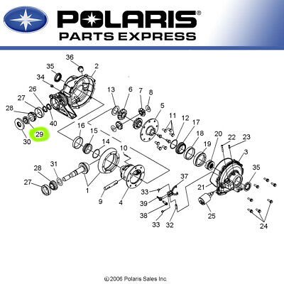 Parts Accessories Rear Gearcase Pinion Nut 2005 2008 Polaris Ranger Xp Crew 700 7547243 Oem Transmissions Chains Cctvshoponline In