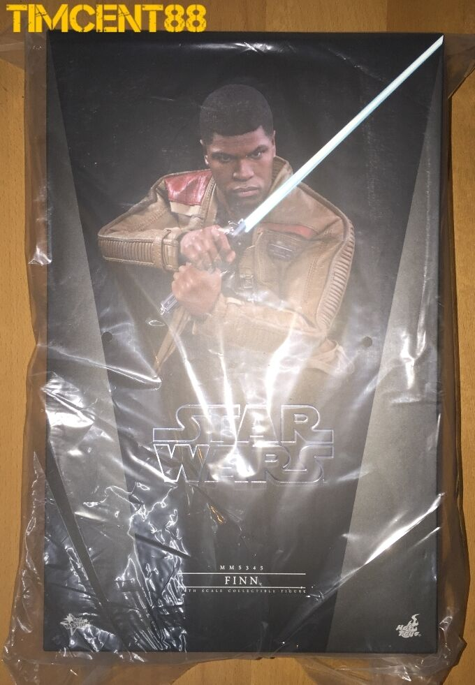 Ready  Hot Toys MMS345 Star Wars VII The Force Awakens Finn John Boyega 1 6