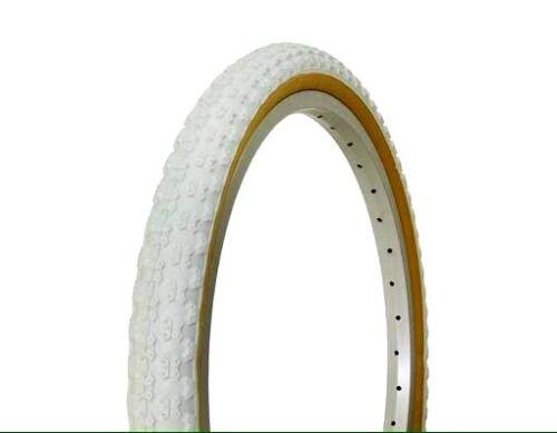 2x 20x1.75 White Gumwall Comp3 BMX Bicycle Tires