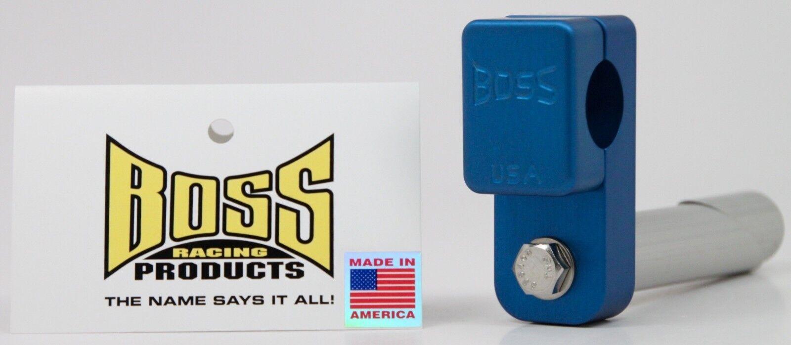 Boss Racing Products-jefe vástago de Cuello de Cisne Mini BMX-Azul