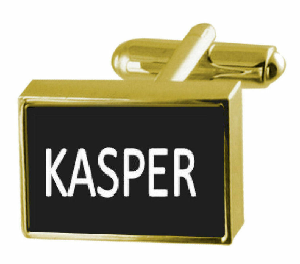 Inciso Inciso Inciso Soldi Clip con Gemelli Nome - Kasper d56663