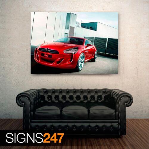 Photo Poster Print Art * All Sizes GQBYCITROEN CONCEPT CAR Car Poster 0465