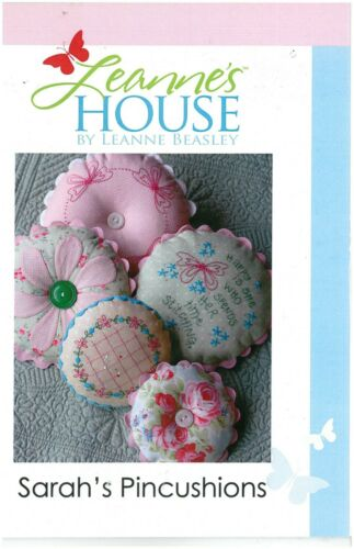 Leanne/'s House By Leanne Beasley Sarah/'s Pincushions Pattern
