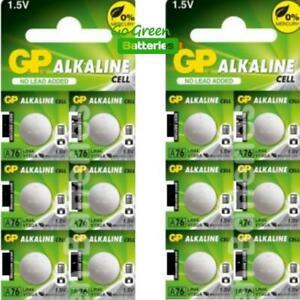 12-x-GP-LR44-1-5V-Batteries-A76-LR-44-AG13-357-L1154