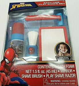 Marvel-Spider-Man-Bath-Time-Shave-Set-For-Kids