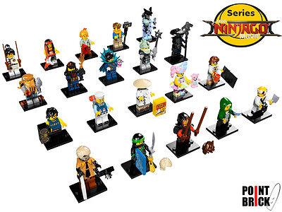 LEGO MINI FIGURE Ninjago movie serie 71019 Zane SIGILLATO