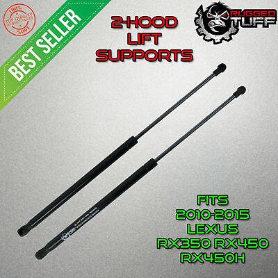 1Pair Front Bonnet Hood Lift Support Shock Struts For Lexus RX350 RX450h 2010-15