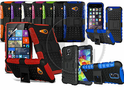 HEAVY DUTY RUGGED TOUGH SHOCKPROOF WITH STAND HARD CASE COVER FOR SAMSUNG PHONES