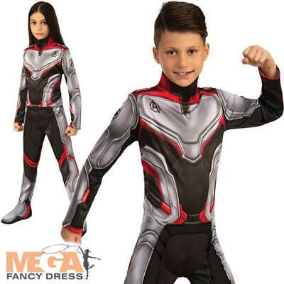 Avengers Mossa Finale Team Tuta Bambini Costume Marvel Superhero Ragazzi Ragazze Costume-mostra Il Titolo Originale Design Accattivanti;