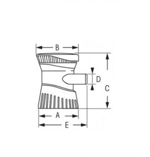 BILGENPUMPE ATTWOOD TSUNAMI T500 12V Lenzpumpe NEU 5418