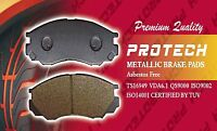 Protech Front Semi Metallic Brake Pads Fit Nissan Camiones Frontier Np300 Pmd333