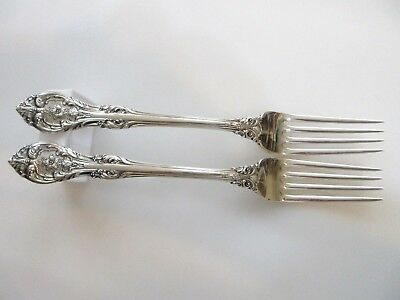 GORHAM KING EDWARD STERLING SILVER DINNER FORK VERY GOOD CONDITION S