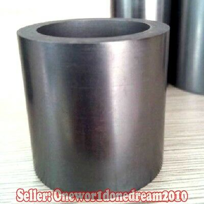 66 OZ Pure Graphite Crucible Cup Propane Torch Melting Gold Silver Copper New