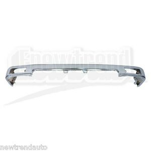 chrome front bumper for toyota pickup to1002102 new ebay. Black Bedroom Furniture Sets. Home Design Ideas