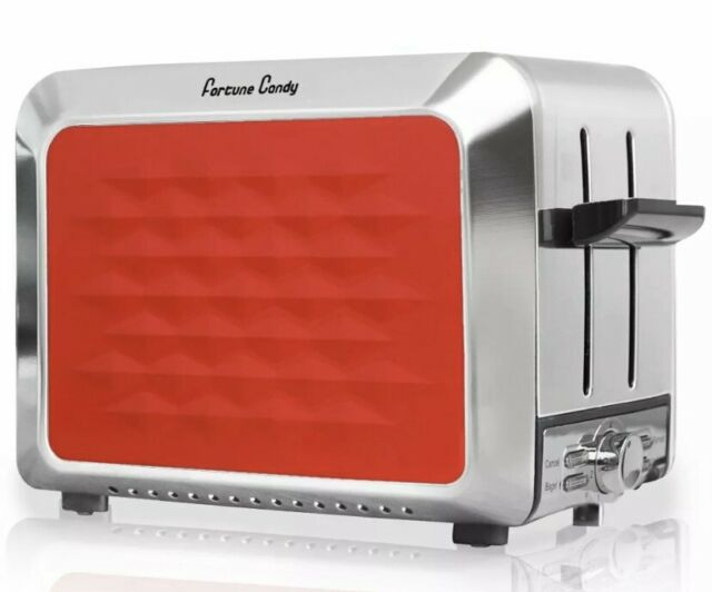 Breville Opula CANDY RED Stainless Steel 2 Slice Toaster VTT328