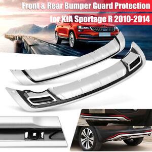 ABS-Plastic-Front-Rear-Bumper-Board-Guard-Protector-For-KIA-Sportage-R-2010-2014