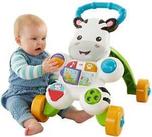 Toy Learning Walker Toddler Kids Baby Push Sit Play Stand Panel