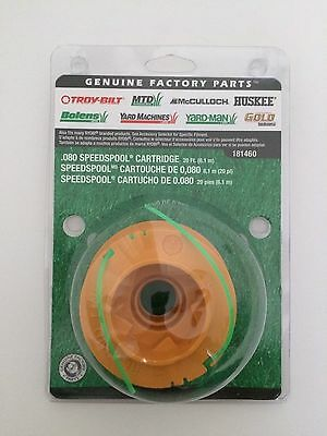 "MTD Genuine Parts .080/"" SpeedSpool Trimmer Cartridge"