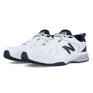 New-Balance-624v5-Pour-Homme-Formation-Gym-Fitness-Chaussures-Blanc-Sport-Respirant
