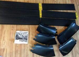 "1970 Sizzlers Fat Track Big ""O"" Layout track parts Mattel redline Hotwheels toy"