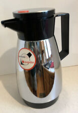 Zimmerman-West Germany Vintage Chrome Coffee Pot Carafe-Rido Busse by Dr