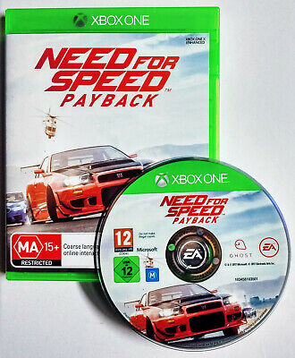 Mint Disc Xbox One Need For Speed Payback Free Postage From