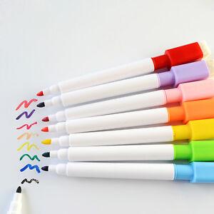 8-Farben-Boardmarker-MAGNETISCH-Whiteboard-Marker-abwischbar-Magnettafel-20-N3A2