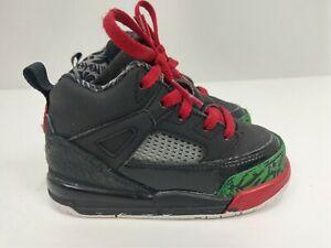 2fdec686a9ba Nike Air Jordan Spizike Black Red Classic Green 2017 BT Toddler ...