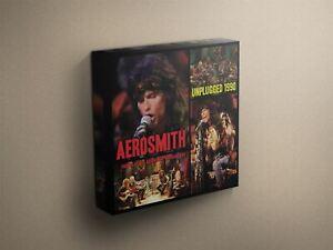 Aerosmith-034-Unplugged-1990-034-Cover-Art-Canvas-Art-Print-011568