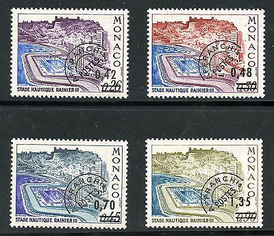 Timbre De Monaco Neuf Preoblitere N° 34/37 ** Cote 18,50 € Promo Stamp