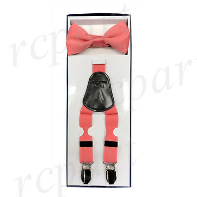 Boy/'s Youth Orange Dotted Clip On Tie MPBC2001OR