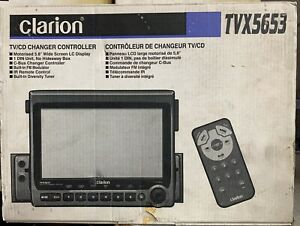 New-OLD-SCHOOL-Clarion-TVX5653-Motorized-5-8-034-TC-CD-Changer-controller-NIB-NOS