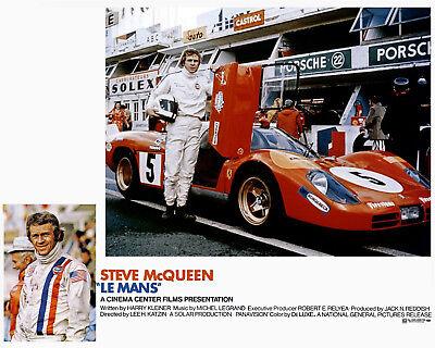 8x10 Color Photo Steve McQueen Bullitt Movie Poster