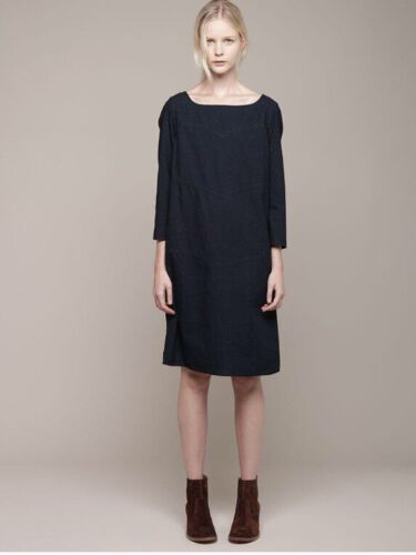 A.P.C. Indigo denim Russian dress M