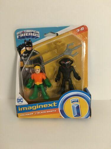Best Price Aquaman /& Black Manta Imaginext Dc Superfriends