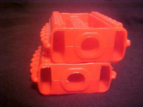 """Pedal Car nos Vintage Red 7//16/"""" Tricycle Pedals Elgin Colson Murray Huffy Amf"""