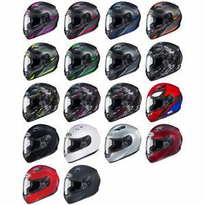 NEW-HJC-CS-R3-Full-Face-Motorcycle-Street-Helmet-DOT-Pick-Size-amp-Color
