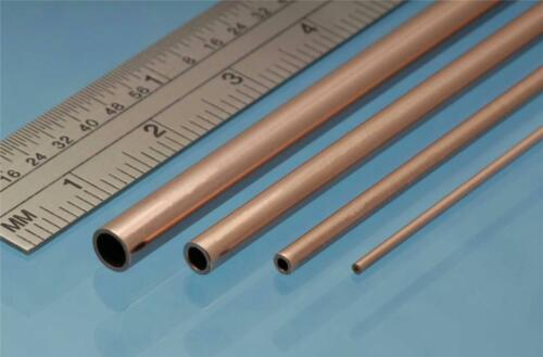 Albion Alloys Copper Tube 5.0 mm OD x 4.1 mm ID x 0.45 Wall Pack of 3 CT5M