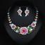 Women-Fashion-Bib-Choker-Chunk-Crystal-Statement-Necklace-Wedding-Jewelry-Set thumbnail 45
