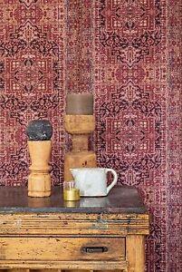 EUR-3-19-qm-Tapete-BN-Essentials-218030-Tapete-Patchwork-Vintage-Retro-Rot